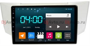 DjAvto 4675 - 4018 для Lexus RX 2003-2009 c DSP на Android 9.0