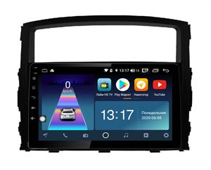 DayStar DS-7007ZM с DSP + 4G SIM + 6/128GB для Mitsubishi Pajero 4 2006-2020 на Android 10.0