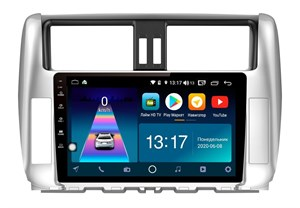 DayStar DS-7041ZM с DSP + 4G SIM + 6/128GB для Toyota Land Cruiser Prado 150 2009-2013 на Android 10.0