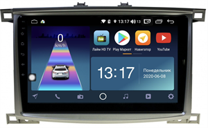 DayStar DS-7083ZM с DSP + 4G SIM + 6/128GB для Toyota Land Cruiser 100 2002-2007 на Android 10.0
