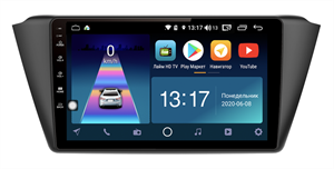 DayStar DS-7121ZM с DSP + 4G SIM + 6/128GB для Skoda Fabia III 2014-2018 на Android 10.0