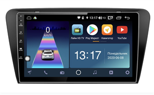 DayStar DS-7180ZM с DSP + 4G SIM + 6/128GB для Skoda Octavia III (A7) 2013-2018 на Android 10.0