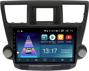 DayStar DS-7194ZM с DSP + 4G SIM + 6/128GB для Toyota Highlander 2009-2014 на Android 10.0