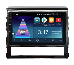 DayStar DS-8002ZM с DSP + 4G SIM + 6/128GB для Toyota Land Cruiser 200 2016+ на Android 10.0