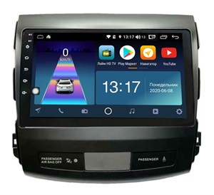 DayStar DS-8007ZM с DSP + 4G SIM + 6/128GB для Mitsubishi Outlander XL 2006-2012 на Android 10.0