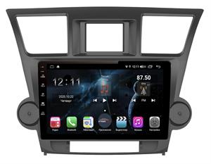 Farcar TG035R+can (S400) с DSP + 4G SIM для Toyota Highlander (U40) 2007-2013 на Android 10.0