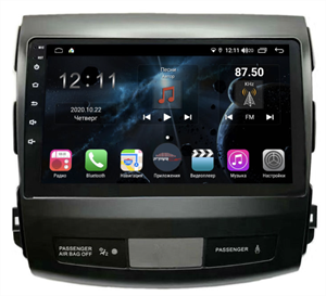 Farcar TG056R (S400) с DSP + 4G SIM для Mitsubishi Outlander XL 2006-2012 на Android 10.0