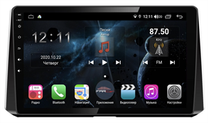 Farcar TG1151R (S400) с DSP + 4G SIM для Toyota Corolla XII 2019-2020 на Android 10.0