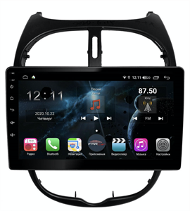 Farcar TG778R (S400) с DSP + 4G SIM для Peugeot  206 1998-2008 на Android 10.0