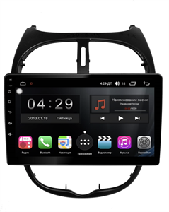 Farcar RG778R (S300)-SIM 4G с DSP для Peugeot 206 1998-2008 на Android 9.0