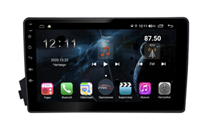 Farcar H158R (S400) с DSP + 4G SIM для Ssang Yong Kyron 2005-2015 на Android 10.0