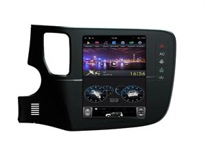 Штатная магнитола Farcar ZF1006 Tesla Style для Mitsubishi Outlander III 2013-2020 на Android 8.1