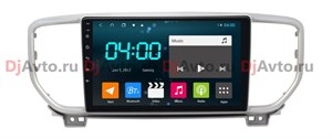 DjAvto 4495 - 4015 для Kia Sportage IV 2018 - 2020 c DSP на Android 9.0