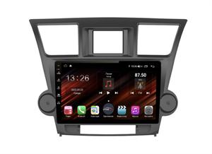 Farcar XH035R+can (S400) с DSP + 4G SIM (6/128ГБ) для Toyota Highlander (U40) 2007-2013 на Android 10.0