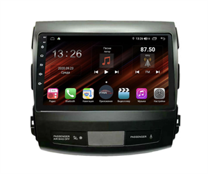 Farcar XH056R (S400) с DSP + 4G SIM (6/128ГБ) для Mitsubishi Outlander XL 2006-2012 на Android 10.0