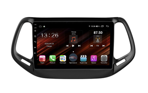 Farcar XH1008R (S400) с DSP + 4G SIM (6/128ГБ) для Jeep Compass II 2017-2018 на Android 10.0