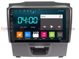 DjAvto 4490 - 4015 для Isuzu D-Max II 2012-2019 c DSP на Android 9.0
