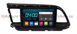 DjAvto 4638-4015  для Для Hyundai Elantra, Avante 2016 - 2019 c DSP на Android 9.0