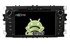 Штатная магнитола Roximo CarDroid RD-1702DB для Ford Focus 2, Mondeo (Android 9.0), черный DSP