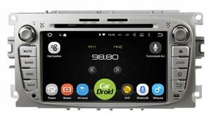 Штатная магнитола Roximo CarDroid RD-1702DS Ford Focus 2, Mondeo (Android 9.0) серебро,DSP