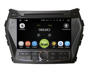 Штатная магнитола Roximo CarDroid RD-2009D для Hyundai Santa Fe 2012-2019 на Android 9.0