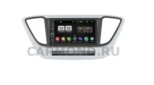 Штатная магнитола FarCar s195 (LX839-RHY-N55) для Hyundai Solaris 2017-2020 на Android 8.1