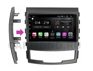 Штатная магнитола FarCar S300 (RL829-RSY-N04) для SsangYong Actyon 2010-2013 на Android 9.0