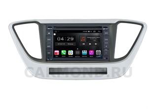 Штатная магнитола FarCar RG001-RHY-N55 (S300)-SIM 4G для Hyundai Solaris 2017-2020 на Android 8.1