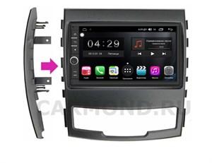 Штатная магнитола FarCar s300 (RL839-RSY-N04) для SsangYong Actyon 2010-2013 на Android 8.1