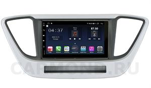 Штатная магнитола FarCar TG829-RHY-N55 (S400) для Hyundai Solaris 2017-2020 на Android 10.0