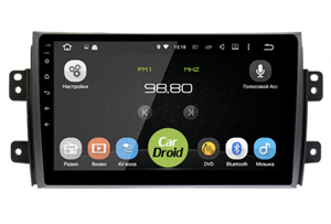 Штатная магнитола Roximo CarDroid RD-3502F для Suzuki SX4 I 2006-2014 на Android 9.0