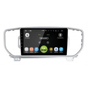 Штатная магнитола Roximo CarDroid RD-2319F-N16 для KIA Sportage IV 2016-2017 (Android 9.0) DSP Для комплектации с камерой/навигацией,без car-play