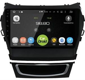 Штатная магнитола Roximo CarDroid RD-2019F-N17 для Hyundai Santa Fe III 2012-2019 (Android 9.0) DSP,с навигацией