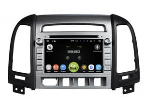 Штатная магнитола Roximo CarDroid RD-2001D для Hyundai SantaFe II 2005-2012 на Android 9.0,DSP (4 кнопки)