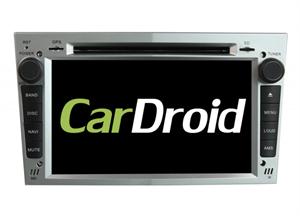 Штатная магнитола Roximo CarDroid RD-2801DS  для Opel Astra, Vectra, Corsa 2004-2011 (Android 9.0) DSP серебро