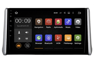 Штатная магнитола Roximo 4G RX-1130 для Toyota RAV4 (XA50) 2018-2020 на Android 10.0