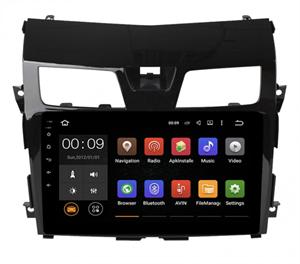 Штатная магнитола Roximo 4G RX-1203-NV14 для Nissan Teana III 2014-2017 на Android 10.0, комплектация с навигацией