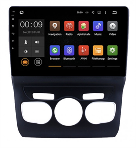 Штатная магнитола Roximo 4G RX-2906 для Citroen C4 II 2010-2017 на Android 10.0