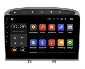 Штатная магнитола Roximo 4G RX-2901 для Peugeot 308 I, 408 2007-2017 на Android 10.0