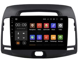 Штатная магнитола Roximo 4G RX-2018 для Hyundai Elantra IV (HD) 2006-2011 на Android 10.0