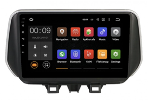 Штатная магнитола Roximo 4G RX-2023 для Hyundai Tucson 2019+ на Android 10.0