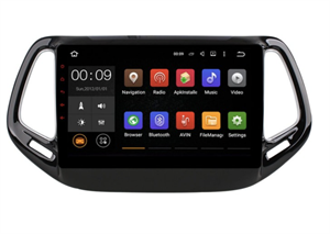 Штатная магнитола Roximo 4G RX-2204 для Jeep Compass II 2017-2018 на Android 10.0