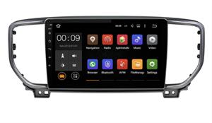 Штатная магнитола Roximo 4G RX-2329-N19 для Kia Sportage IV 2018-2020 (Android 10.0) Для комплектации с навигацией