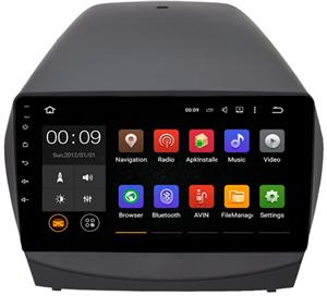 Штатная магнитола Roximo 4G RX-2002-M14 для Hyundai ix35 2010-2015 (Android 10.0) Комплектация с камерой и усилителем