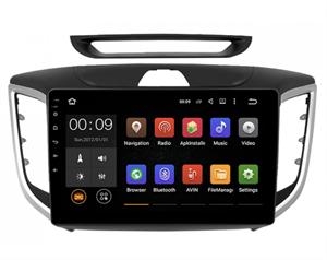 Штатная магнитола Roximo 4G RX-2010-M17 для Hyundai Creta 2016-2021 на Android 10.0  (Комплектация со штатной камерой)