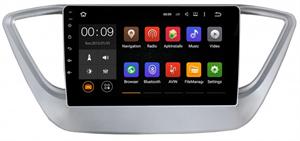 Штатная магнитола Roximo 4G RX-2011-N17 для Hyundai Solaris II 2017-2020 (Android 10.0) Комплектация с оригинальной навигацией