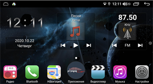Farcar H159R (S400) с DSP + 4G SIM для SsangYong Actyon, Korando 2010-2013 на Android 10.0