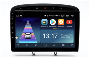 DayStar DS-7115ZM с DSP + 4G SIM + 6/128GB для Peugeot 308 I, 408 2007-2017 на Android 10.0