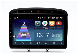 DayStar DS-7115Z с DSP + 4G SIM + CarPlay для Peugeot 308 I, 408 2007-2017 на Android 10.0