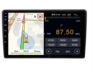 Parafar для Citroen C2, C3 I, C3 Picasso, Berlingo II, Jumpy II на Android 8.1.0 (PF079LTX-B)